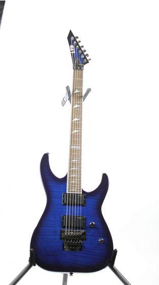 ESP LTD M-330R Rosewood See Thru Blue Sunburst Sample/Prototype Electric Guitar, LM330RRDSB