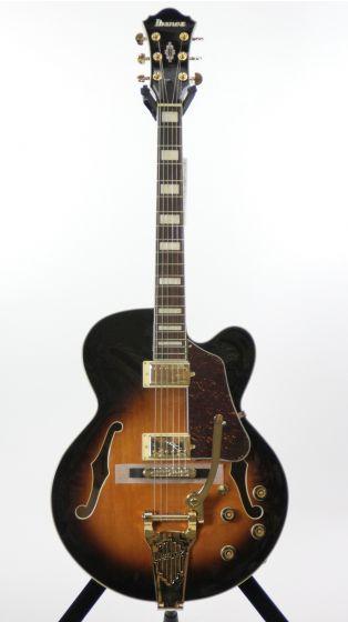 Ibanez AF75TDG Artcore Vintage Sunburst Hollow Body Electric Guitar, AF75TDGVSB