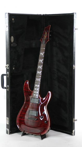 Schecter USA Custom Hollywood Classic Black Cherry Electric Guitar, 14-07017