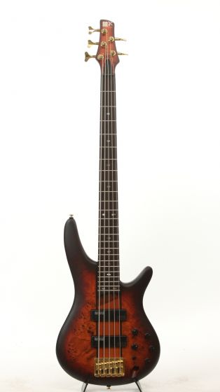 Ibanez SR805 AWT Aged Whiskey Burst Flat Electric Bass Guitar[, SR805AWT]