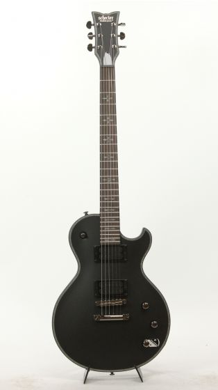 Schecter Hellraiser Solo-II Passive SBK 1944 Satin Black Guitar, SGR-1944