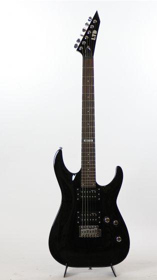 ESP LTD MH-10 Tremelo Black Electric Guitar Sample/Prototype 3052, LMH10KITTREMBLK