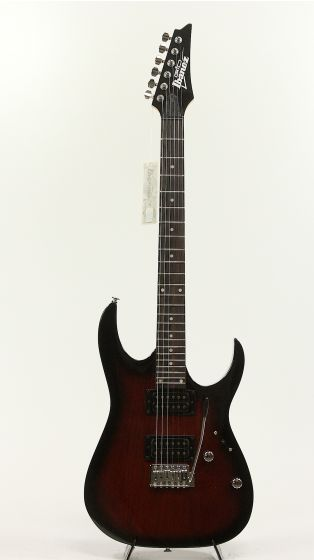 Ibanez IJRG220Z Jumpstart Walnut Sunburst Electric Guitar Pack, IJRG220ZWNS