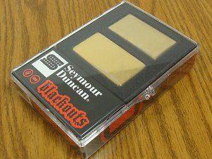 Seymour Duncan AHB-1S Original Blackouts Neck/Bridge Pickup Set Gold Cover, 11106-32-Gc