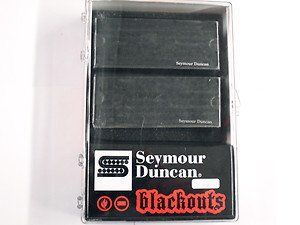 Seymour Duncan AHB-1S Blackouts 7-String Phase 2 Pickup Set, 11106-38-B-7Str
