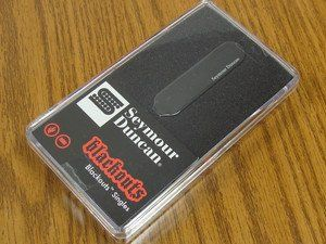 Seymour Duncan AS-1S Blackouts Single for Strat Pickup Set, 11206-12