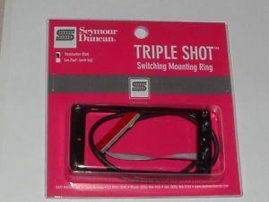 Seymour Duncan TS-1S Triple Shot Mounting Ring Switching System Flat Set, 11806-02