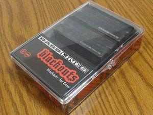 Seymour Duncan ASB-BO-5S Blackouts For Bass 5-String Pickup Set, 11407-12