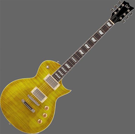 ESP LTD EC-256FM Guitar in Lemon Drop Finish, EC-256FM-LD