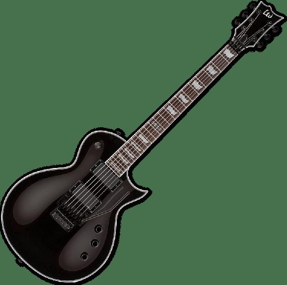 ESP LTD EC-401FR Electric Guitar in Black, EC-401FR BLK