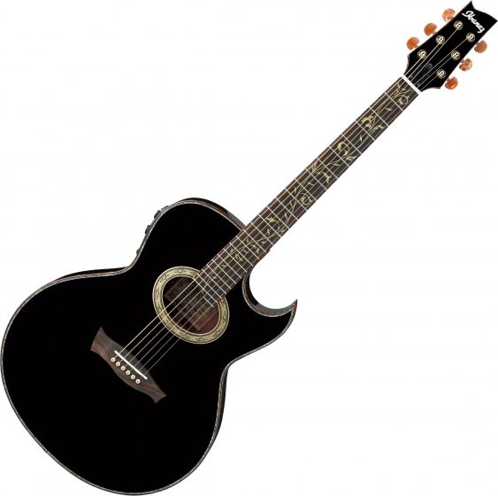 Ibanez Steve Vai EP10 Signature Acoustic Electric Guitar Black Pearl, EP10BP