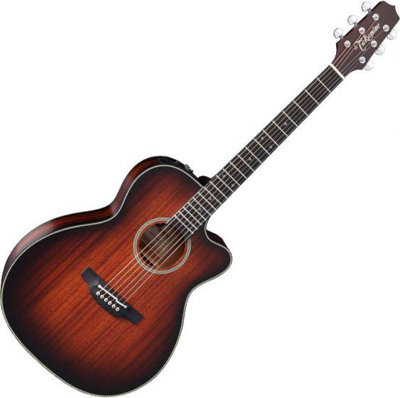 Takamine CP771MC SB OM Cutaway Acoustic Electric Guitar Shadow Burst Satin, TAKCP771MCSB
