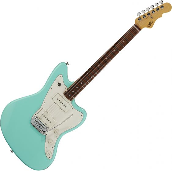 G&L Fullerton Deluxe Doheny Electric Guitar Surf Green, FD-DOH-SRF-CR