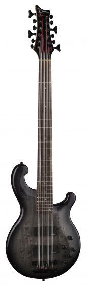 Dean Rhapsody 12 Bass Guitar Trans Black RH12 TBK, RH12 TBK