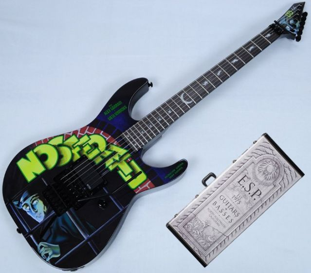 ESP LTD KH-NOSFERATU Kirk Hammett Limited Edition Guitar With Case, KH-NOSFERATU