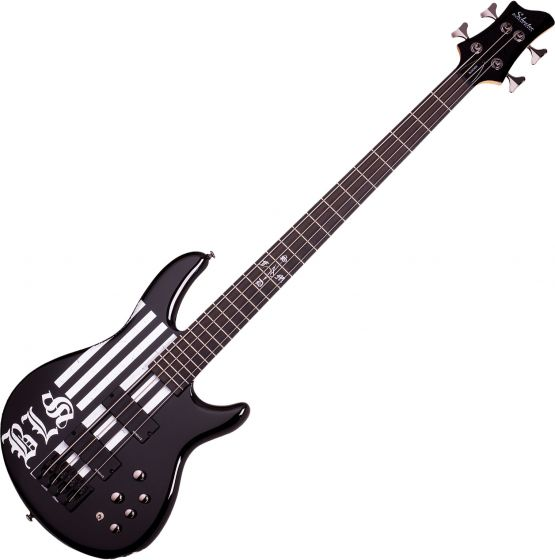 Schecter Signature JD Deservio Electric Bass Gloss Black, 49