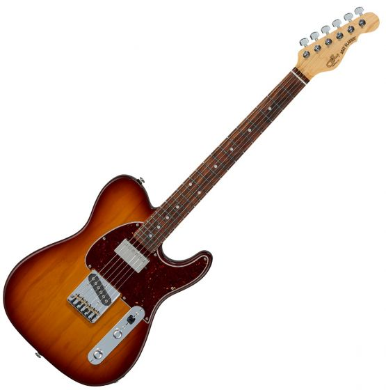G&L ASAT Classic Bluesboy USA Fullerton Deluxe in Old School Tobacco Burst, FD-ASTCB-OST-CR