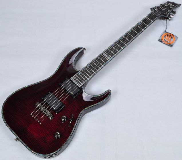 ESP LTD Deluxe H-1001FM See-Thru Black Cherry Electric Guitar B-Stock, H-1001FMB