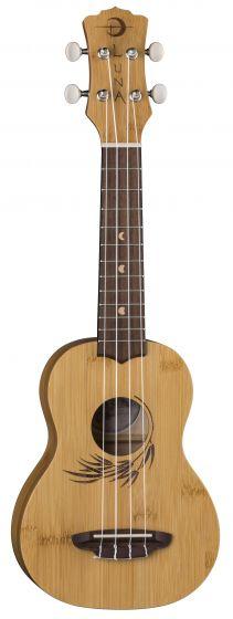 Luna Uke Bamboo Soprano w/Gigbag UKE BAMBOO S, UKE BAMBOO S