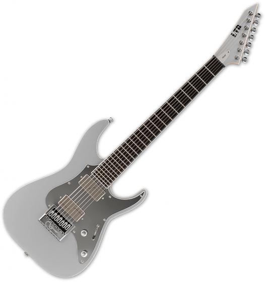 ESP LTD Ken Susi KS M-7 Evertune 7-String Signature Electric Guitar Metallic Silver, LKSM7ETMS