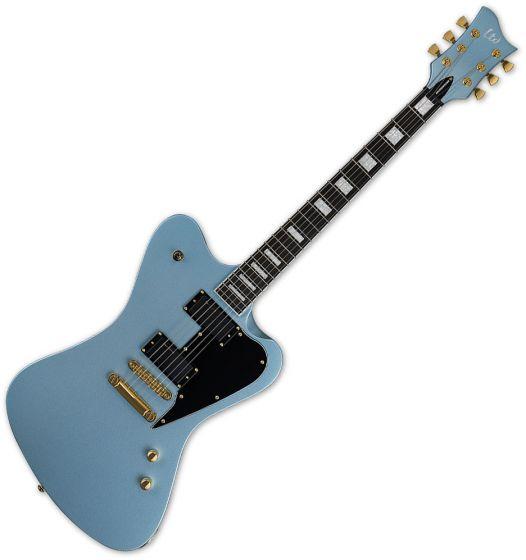 ESP LTD Sparrowhawk Bill Kelliher Electric Guitar Pelham Blue, LSPARROWHAWKPB