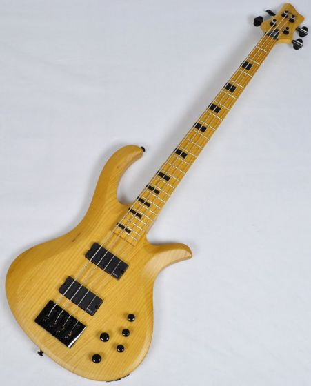 Schecter Riot-4 Session Electric Bass in Aged Natural Satin Finish, 2852