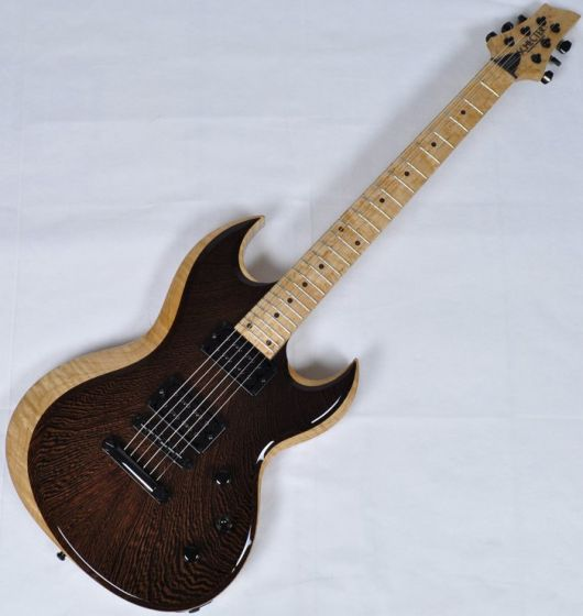 Schecter Masterwork Prowler-II Wenge Natural Gloss Electric Guitar, SCHECTERMWKP2NAT