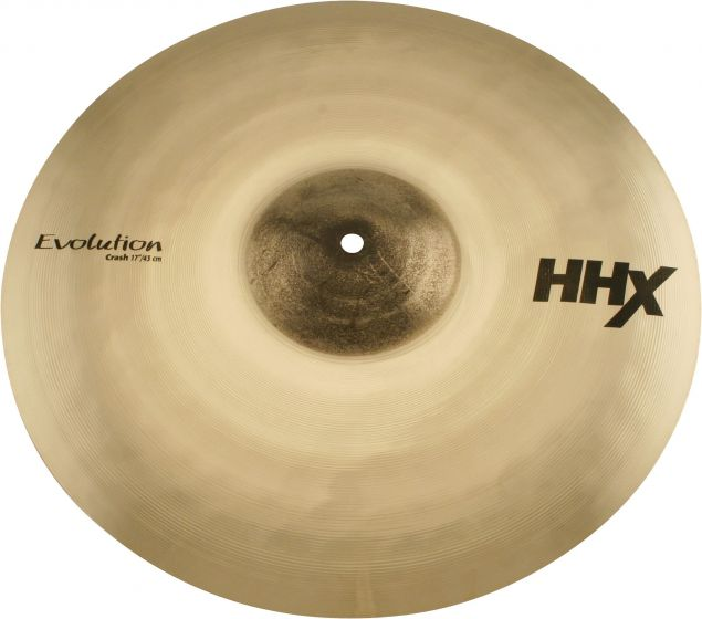 "Sabian 17"" HHX Evolution Crash Brilliant Finish, 11706XEB"