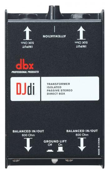 dbx DJD1 2-Channel Passive Direct Box, DBXDJDI