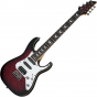 Schecter Banshee-7 Extreme 7-String Electric Guitar Black Cherry Burst, 1997