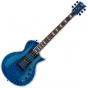 ESP LTD EC-1000 Piezo Quilted Maple Electric Guitar See Thru Blue B-Stock, LEC1000PIEZOQMSTB.B