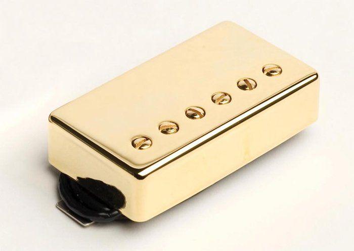 Seymour Duncan Humbucker SH-2n Jazz Model Neck Pickup Gold Cover, 11102-01-Gc