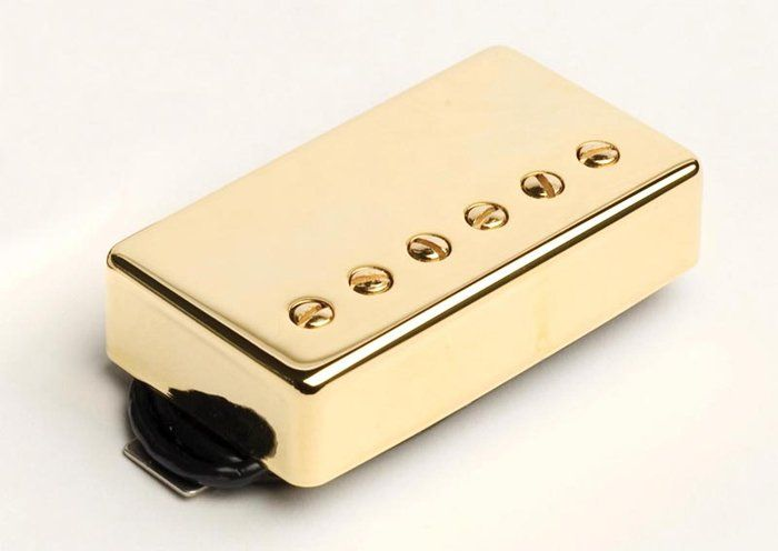 Seymour Duncan Humbucker SH-2B Jazz Model Bridge Pickup Gold Cover[, 11102-05-Gc]