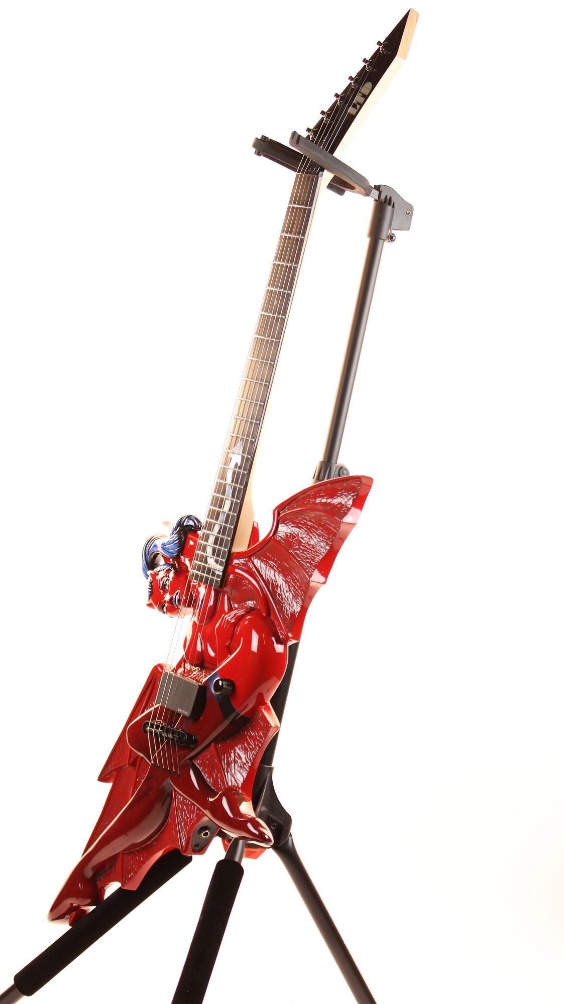 esp ltd devil girl electric guitar rare original prototype 6. Black Bedroom Furniture Sets. Home Design Ideas