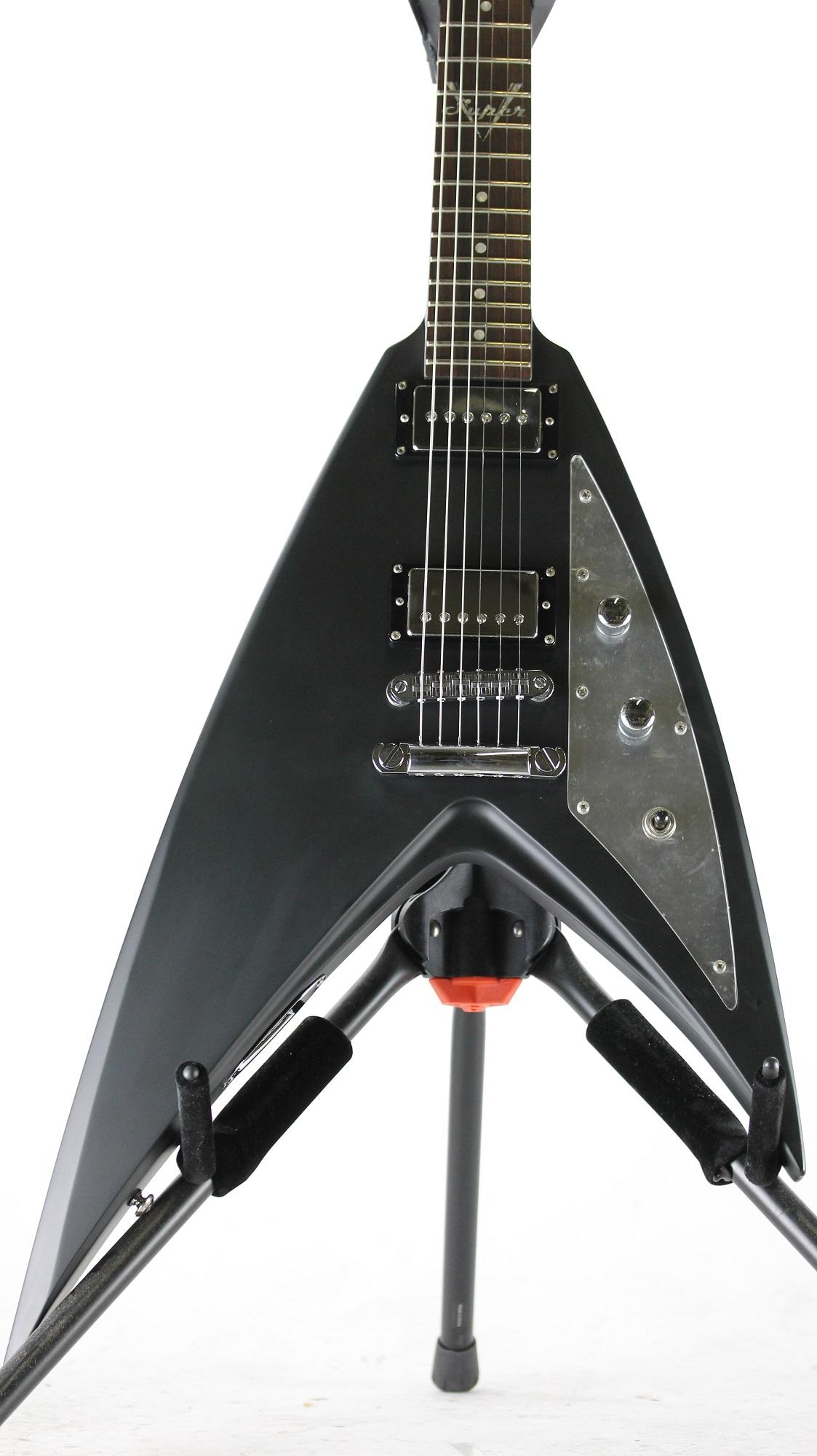 esp ltd george lynch super v gl 600v 2006 electric guitar nos korea w case ebay. Black Bedroom Furniture Sets. Home Design Ideas