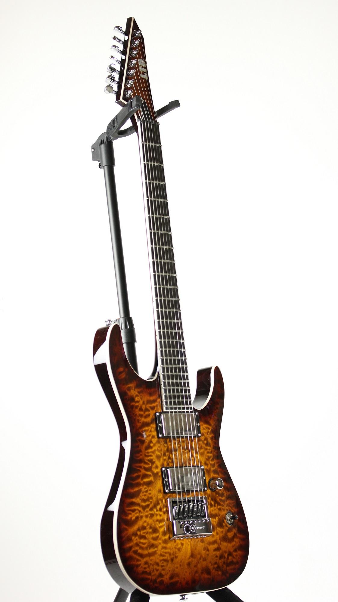 Kansas Brand Electric Guitar : esp ltd ken susi ks 7 qm et evertune electric guitar signed 6 ~ Russianpoet.info Haus und Dekorationen