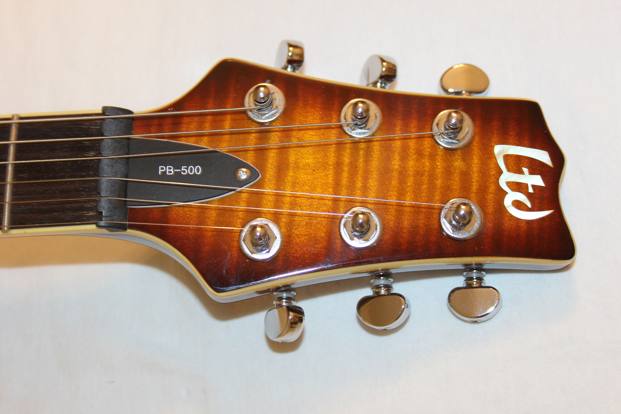 esp ltd pb 500 amber sunburst sample prototype missing parts 6. Black Bedroom Furniture Sets. Home Design Ideas