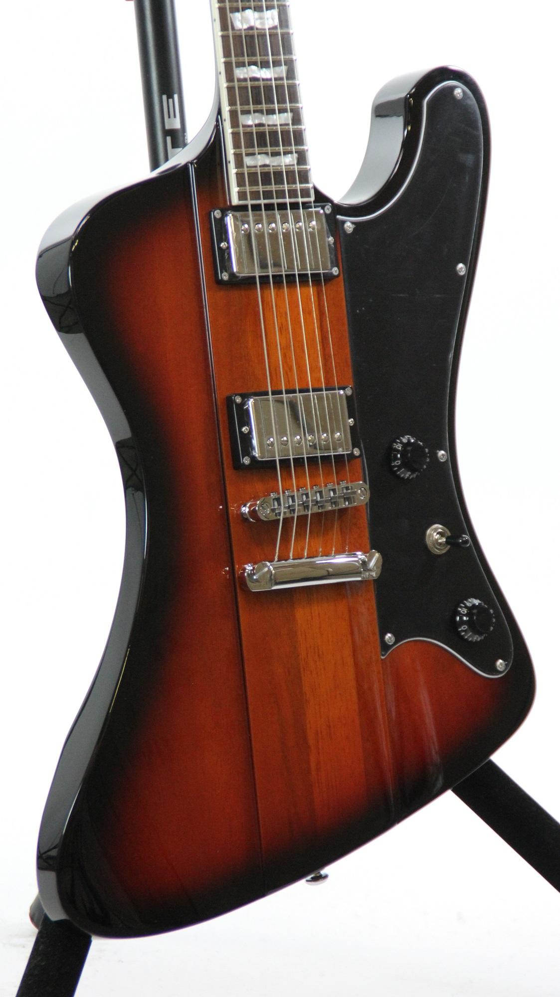 esp ltd phoenix 401 2 tone burst sample prototype electric guitar 4141 6. Black Bedroom Furniture Sets. Home Design Ideas