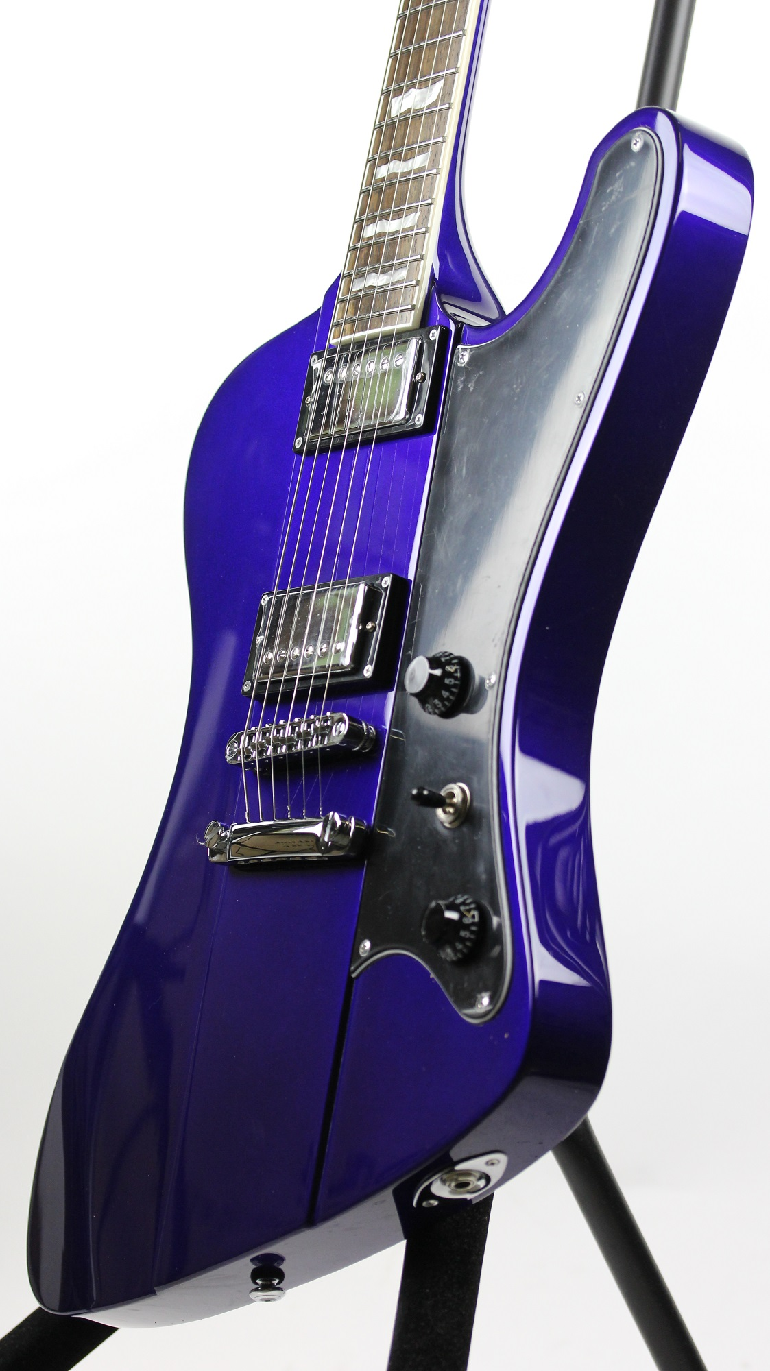 esp ltd phoenix 401 electric blue sample prototype electric guitar 6. Black Bedroom Furniture Sets. Home Design Ideas