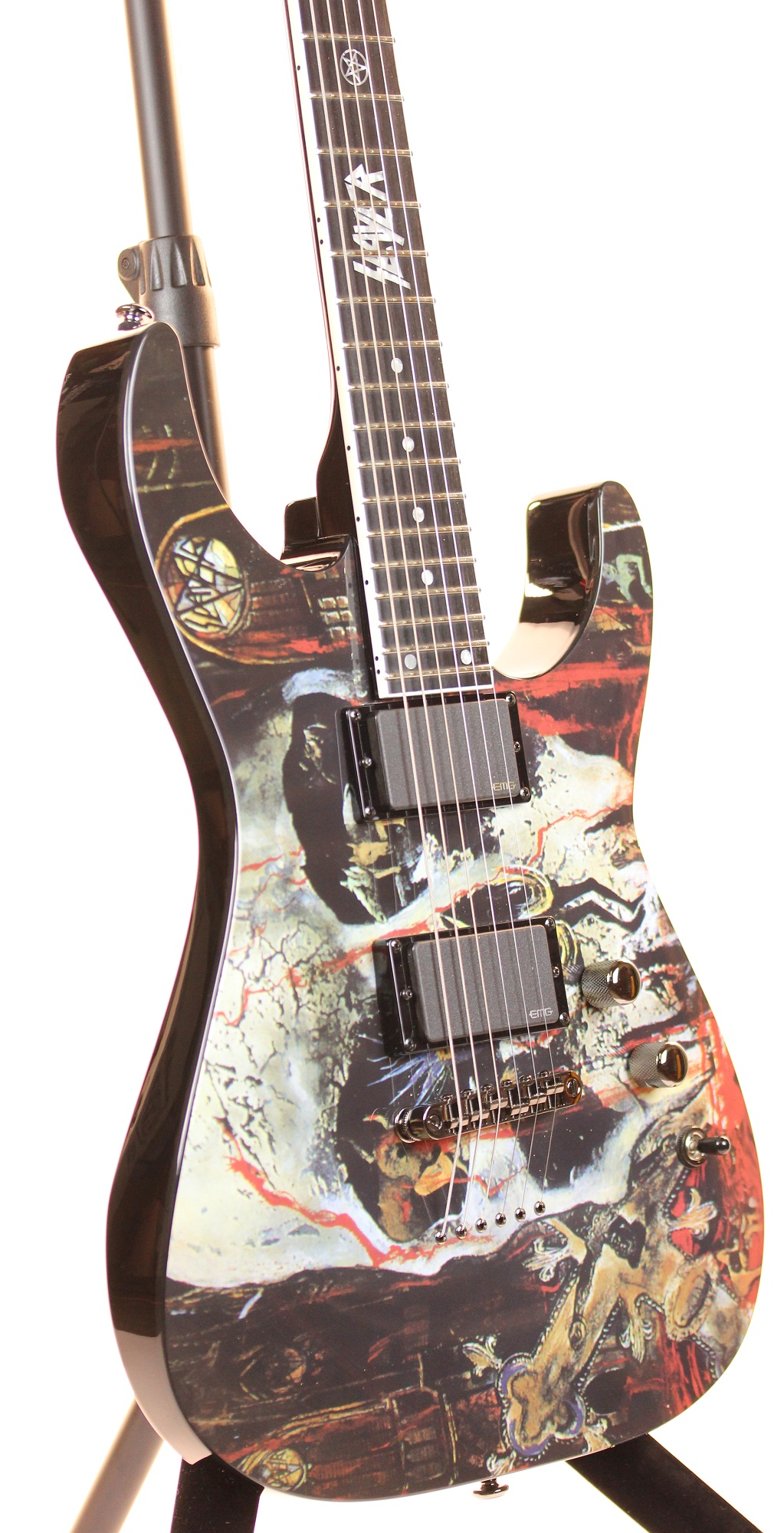 esp ltd south of heaven slayer 2012 jeff hanneman graphic series electric guitar 6. Black Bedroom Furniture Sets. Home Design Ideas