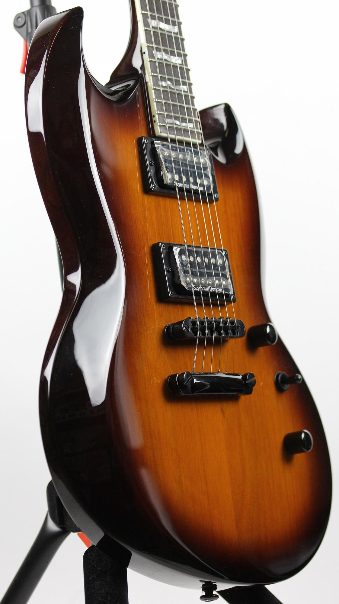 esp ltd viper 400 vintage sunburst sample prototype electric guitar korea 6. Black Bedroom Furniture Sets. Home Design Ideas