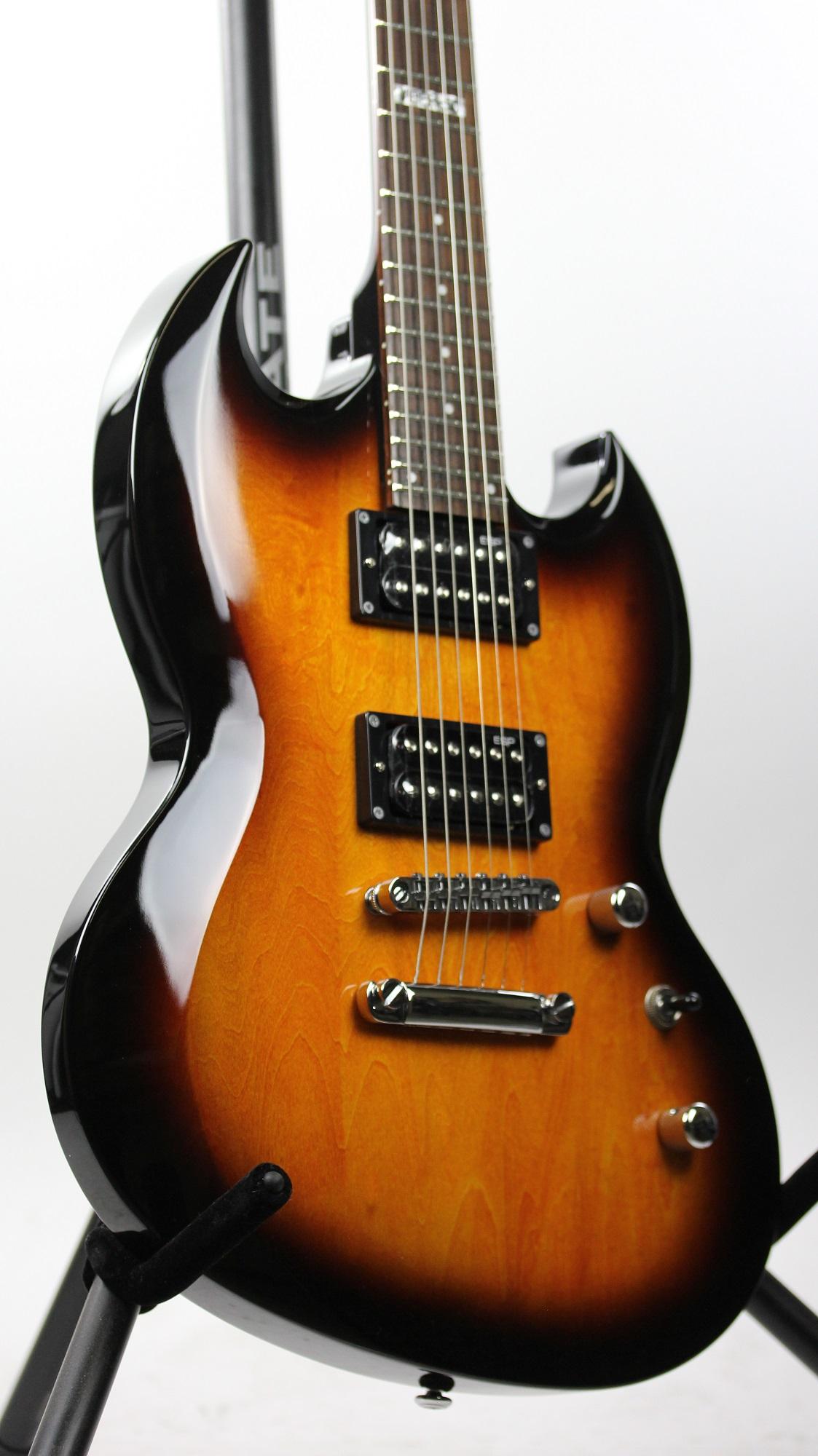 esp ltd viper 50 2 tone burst sample prototype electric guitar 2155 6. Black Bedroom Furniture Sets. Home Design Ideas