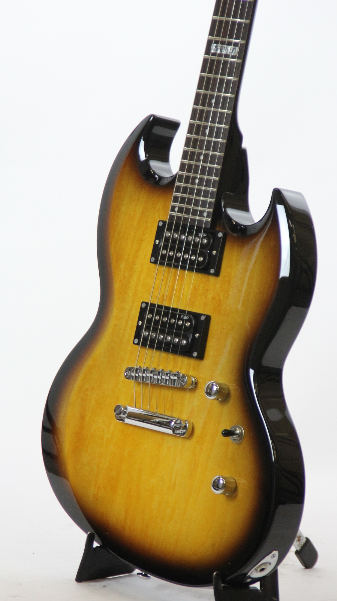 esp ltd viper 50 2 tone burst sample prototype electric guitar 2156 6. Black Bedroom Furniture Sets. Home Design Ideas