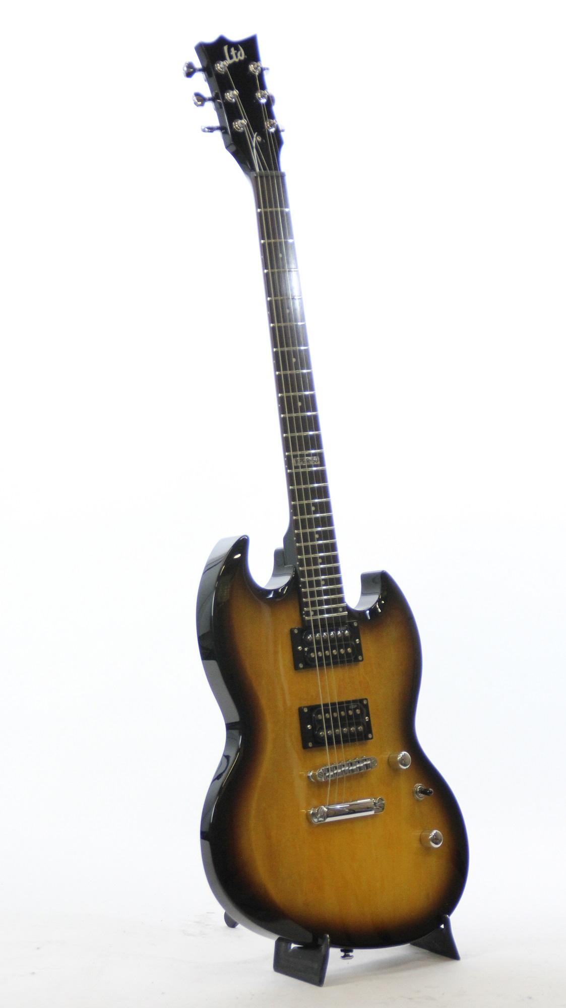 esp ltd viper 50 2 tone burst sample prototype electric guitar 2156 6. Black Bedroom Furniture Sets. Home Design Ideas