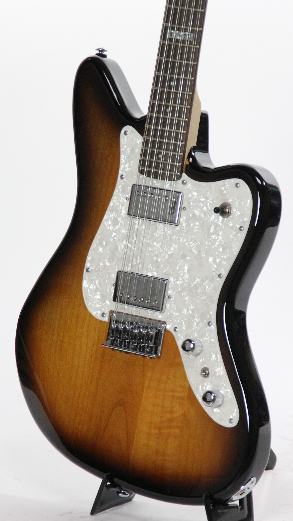 esp ltd xj 12 2tb 2 tone burst sample prototype electric guitar 6. Black Bedroom Furniture Sets. Home Design Ideas