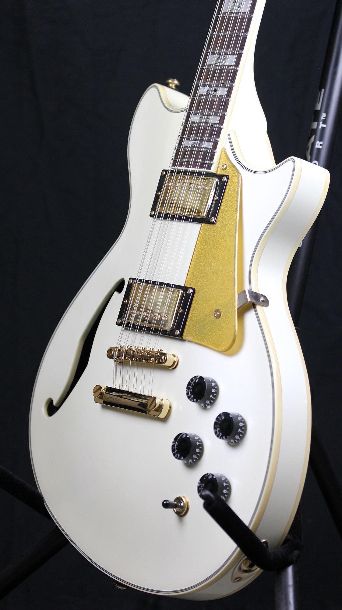 esp ltd xtone pc 2 12 white sample prototype 12 string electric guitar 6. Black Bedroom Furniture Sets. Home Design Ideas