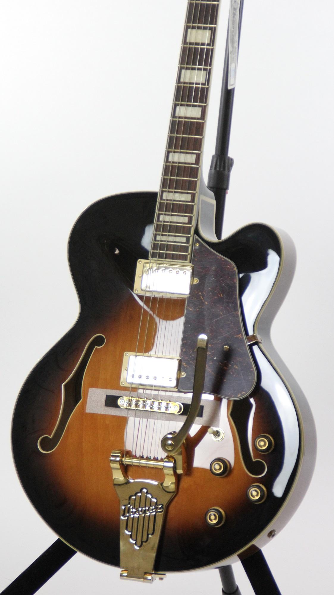 ibanez af75tdg artcore vintage sunburst hollow body jazz box electric guitar ebay. Black Bedroom Furniture Sets. Home Design Ideas