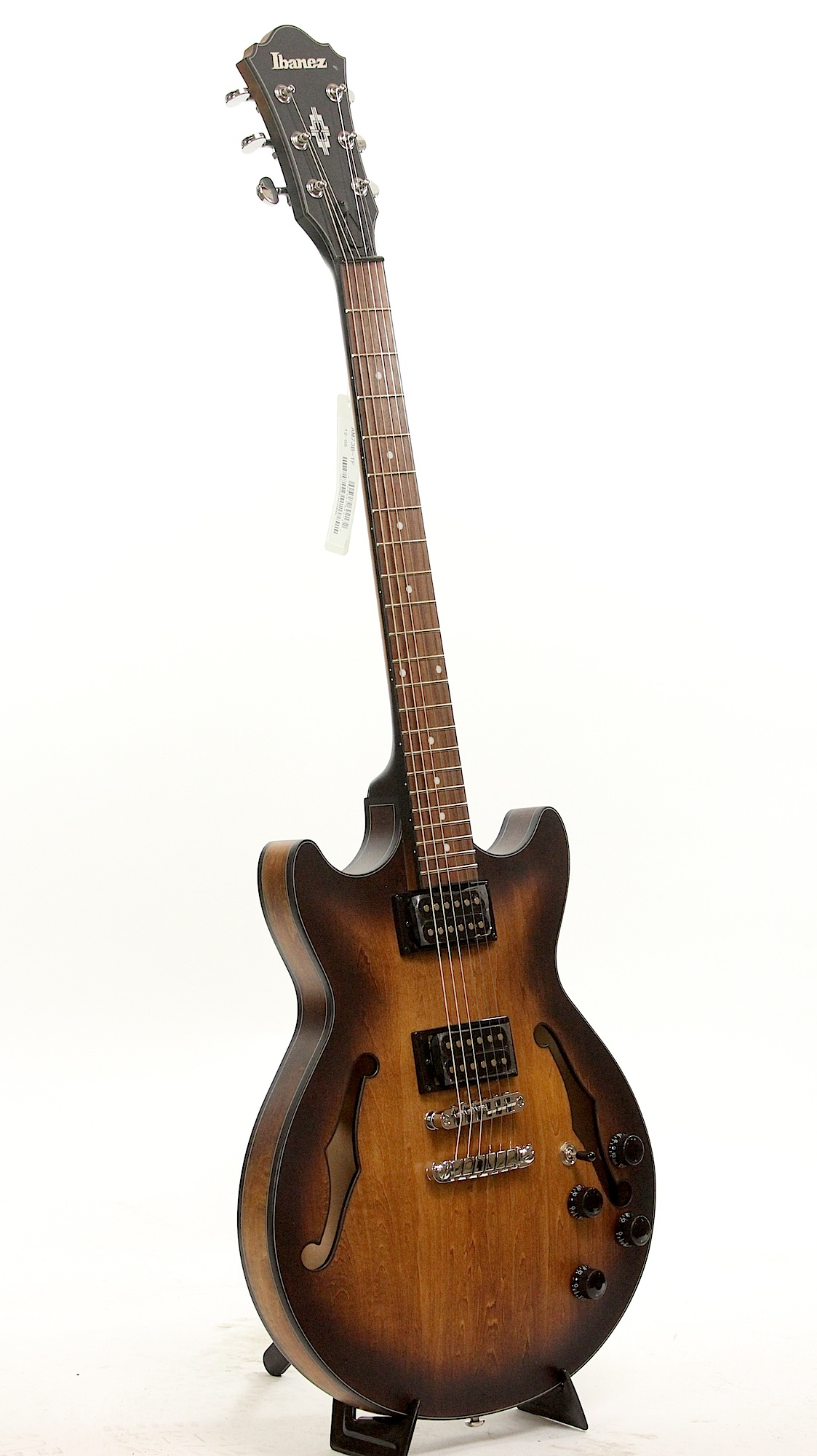 ibanez am73b tf tobacco flat semi hollow body electric guitar b stock 6. Black Bedroom Furniture Sets. Home Design Ideas