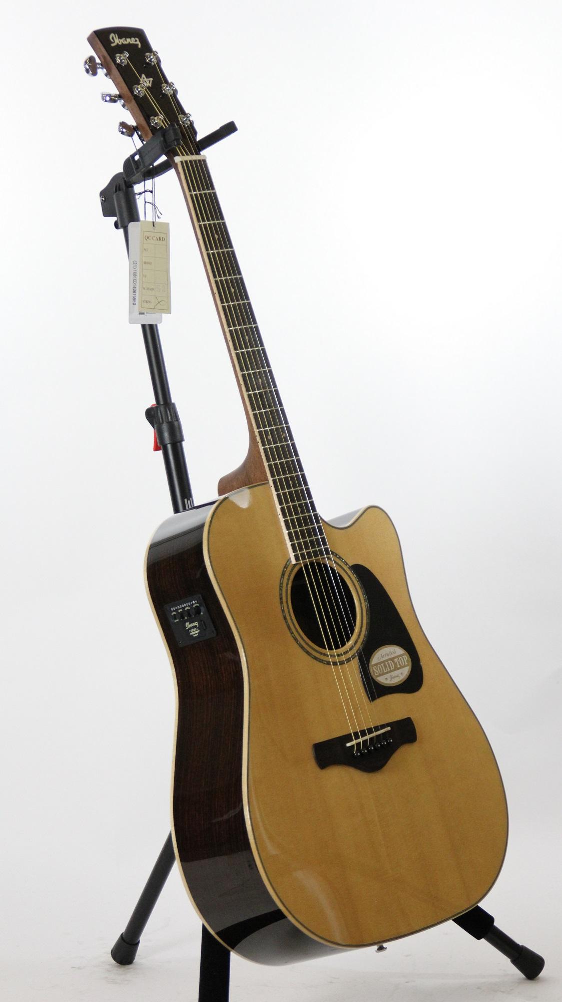 ibanez aw535ce artwood grand concert electric acoustic guitar 6. Black Bedroom Furniture Sets. Home Design Ideas