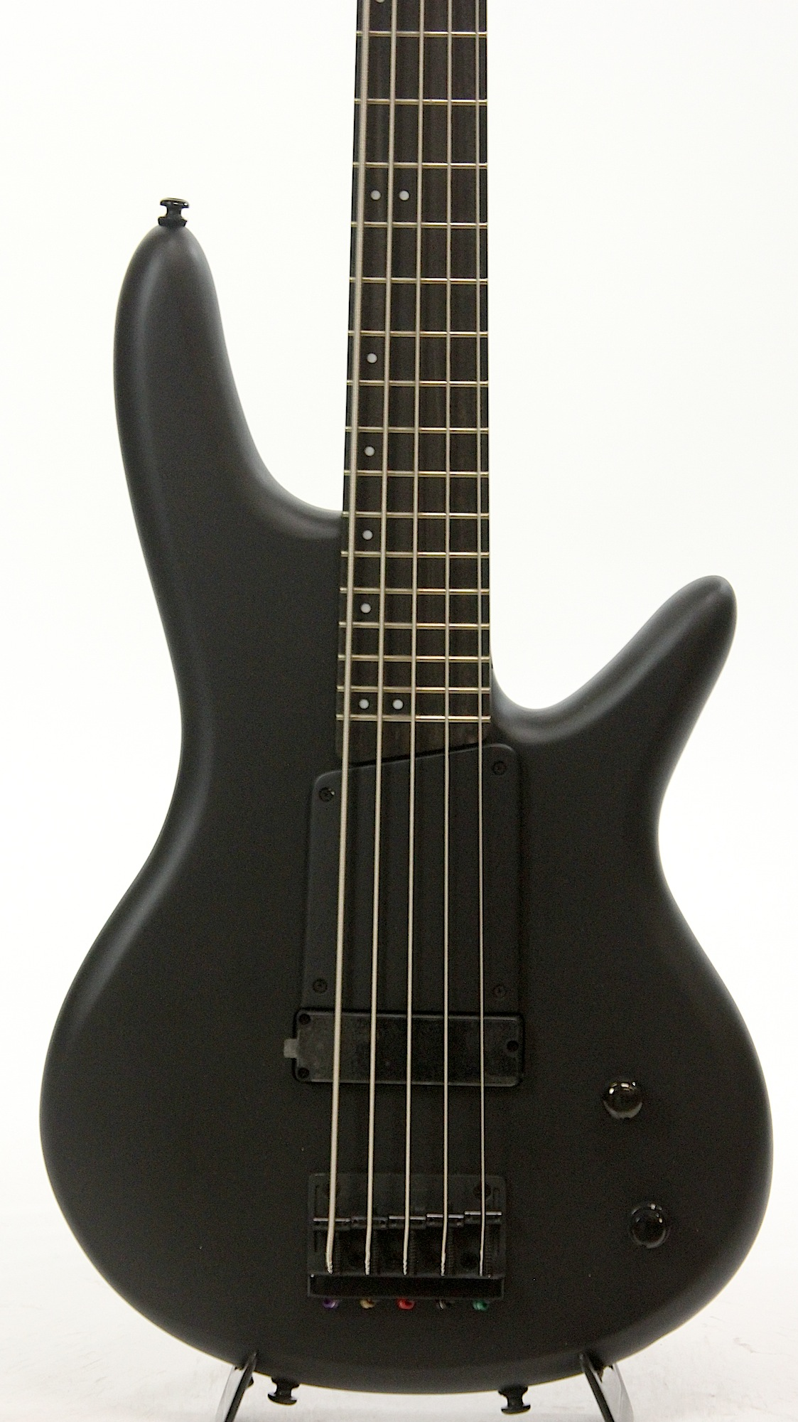 ibanez gwb35fd bkf gary willis black flat 5 string bass guitar 6. Black Bedroom Furniture Sets. Home Design Ideas